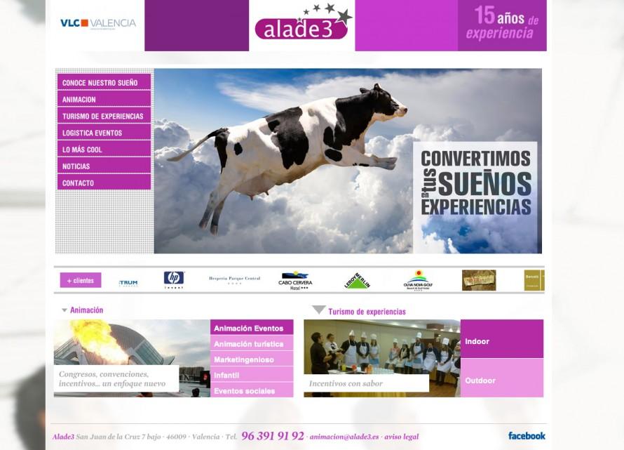 Página Web Alade3